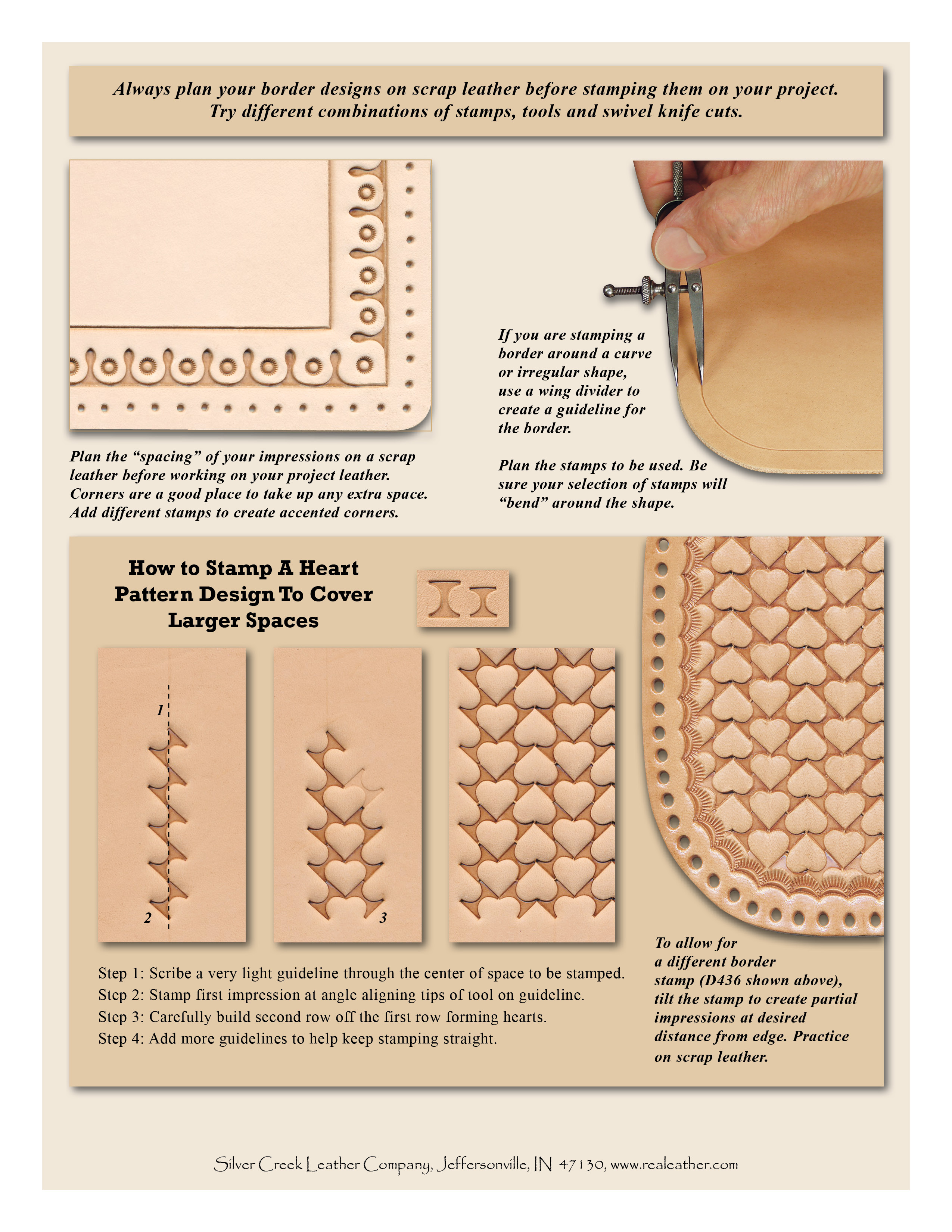 Click Here For Printable PDF File Serpentine Stamps D447S D445S D444S